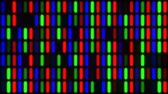 mikroskop : Abstract LCD Computer Monitor Screen Closeup of RGB LED Pixels - 4K Seamless Loop Motion Background Animation