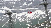 chairlift : Ski lift in Switzerland. Wengen