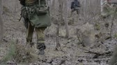защитник : A group of scout saboteurs perform the task. An armed soldier, terrorist, saboteur.