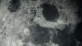 Moon Background. Realistic moon. The Moon is an astronomical body that orbits planet Earth. 3d rendering 4K