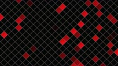 hipnoza : Motion red squares abstract background. Elegant and luxury dynamic style for business template