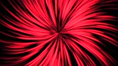 psychedelic pattern : Abstract motion red lines with noise in 80s style, looping animation retro background. Elegant and luxury dynamic game style