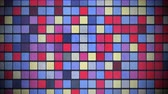 hipnoza : Motion colorful squares pattern, abstract background. Elegant and luxury dynamic geometric style template