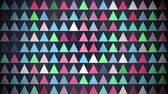 triangulos : Motion colorful triangles pattern, abstract background. Elegant and luxury dynamic geometric style template