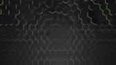 rejtvény : Motion dark black hex grid background, abstract background. Elegant and luxury dynamic style for business and corporate template