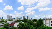 Cloudscape day in Bangkok Thailand, 4K timelapse.