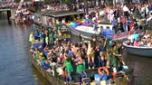 homosexual : Tourists and locals enjoying the Canalparade