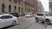 Traffic on West 54th and 5th Avenue in Mahatten, New York City