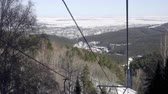 scii : Cableway in the mountains