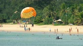 taylandlı : High season in Karon beach in Phuket