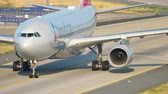 lucht : American Airlines Airbus A330 taxiing