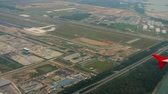 панорама : Aerial view Singapore Changi airport