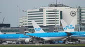 vez : KLM Airbus A330 taxiing after landing
