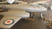 rolls royce : CALOUNDRA, AUSTRALIA - December 4 2015: The Gloster Meteor was the first British jet fighter and the Allies only operational jet aircraft during the Second World War.