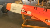 aerodynamics : CALOUNDRA, AUSTRALIA - December 4 2015: The GAF Turana was a target drone produced by the Australian Government Air Factory in the 1970s. It was intended for use in gunnery and missile defence training.