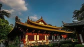Guangxiao Temple(prince mansion in Han dynasty)、広東省、中国の主要なホール