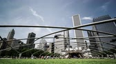 csiszolt : The jay pritzker pavilion in Millennium Park, Chicago, USA