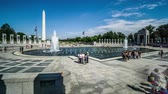 스코틀랜드 : The visitors and the Obelisk, Washington, USA 무비클립