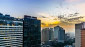 grande angular : From day to night,the cityscape in Manila, Philippines