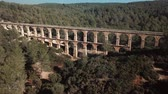 unesco world heritage : Les Ferreres Aqueduct, ancient Roman aqueduct near Tarragona city in Catalonia, Spain
