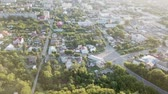provincial : aerial view of center of Murom town, Russia
