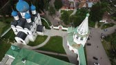 Aerial view of the architectural ensemble of Suzdal