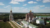 крещение : View of the architectural design of the Ryazan Kremlin with churches and cathedrals