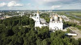 Aerial view of Saint Demetrius, Russia