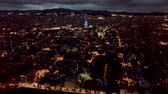 Barcelona in night