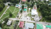 parroquia : Aerial view of Pereslavl Kremlin with churches in Pereslavl-Zalessky, Russia