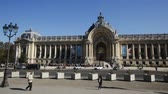 galeria : PARIS, FRANCE - OCTOBER 10, 2018: View of the Petit Palais (Small Palace) - art museum in Paris, on sunny day