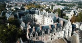 architectural : Royal Chateau de Blois on a sunny day, France