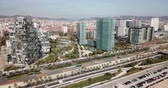 otoyol : Image of european city Barcelona with view of blocks of flats, Spain