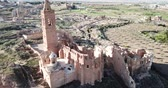остатки : Spanish war town Belchite, Spain