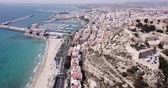 alicante : Santa Barbara castle in Alicante, Spain