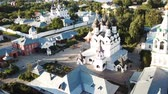 Aerial view of the architectural ensemble of the Annunciation Monastery and Holy Trinity Dostupné videozáznamy