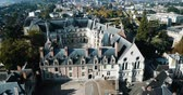 Royal Chateau de Blois on a sunny day, France