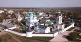 Aerial view of Vysotsky Monastery at Serpukhov, Russia