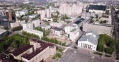 localizações : Voronezh, Russia - May 5, 2019: Panoramic view of Voronezh, Lenin Square, Russia