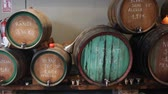 enology : Catalan wine store offering various draft wine from wooden barrels