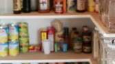 półka : an out of focus pantry shot