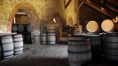 beczka : Castle Wine Cellar and Barrells Wideo