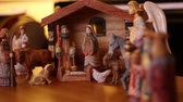 esculpida : A beautiful hand carved and painted Nativity Creche