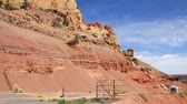 burr : The beautiful desert of Capitol Reef National Park in Southern Utah Stock Footage