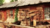 античный : Cool Old Time Cowboy Western Cabin