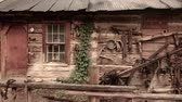 античный : Old Western Log Home Steadicam Shot