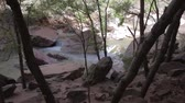 bakire : virgin river in zion national park Stok Video