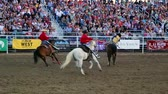 corajoso : Cowboy rides bareback at the rodeo