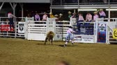 corajoso : PRCA rodeo clowns bull fighting