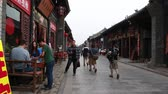 street wall : Touristen in Pingyao China